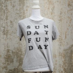 """Project Social T """"Sunday Funday"""" Graphic Tee"""